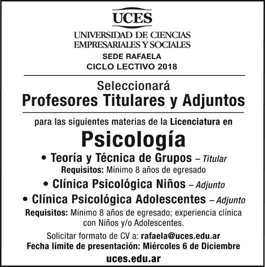 BUSQUEDA RAFAELA - PSICOLOGIA