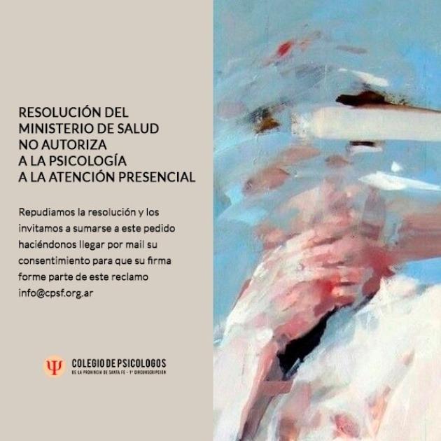DECRETO COVID NO ATENCION PSICOLOGICA