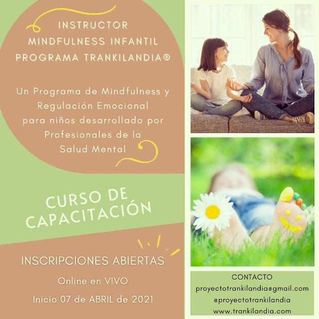 instructor mindfulness infantil