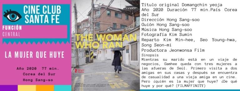 la mujer que huye
