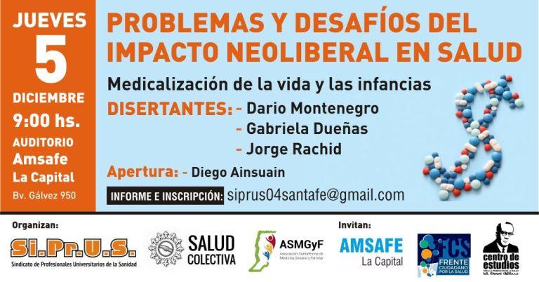 problemas y desafios del impacto neoliberal