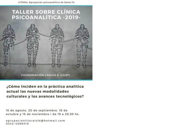 taller sobre clinica psicoanalitica 2019
