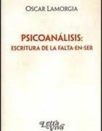 Psicoanalisis escritura de la falta en ser