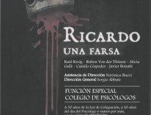 RICARDO UNA FARSA